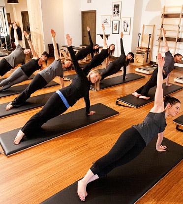 Group Class Pilates Mat Body In Balance Yoga Barre Pilates Mineola Ny 11501
